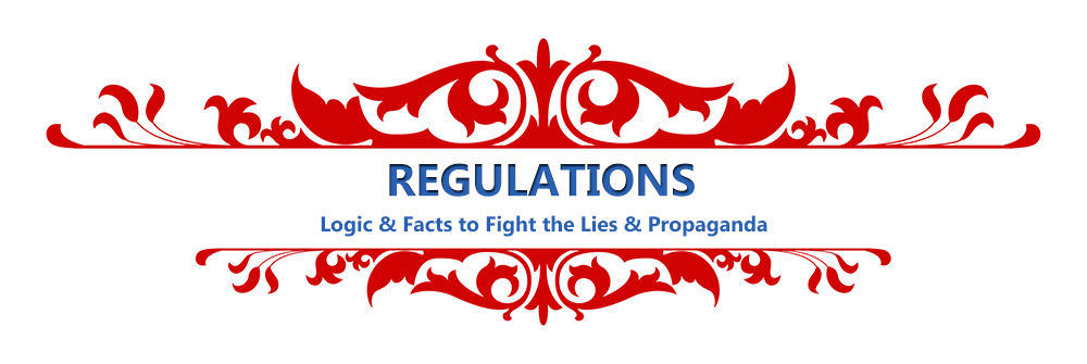 REGULATIONS – Facts & News Links